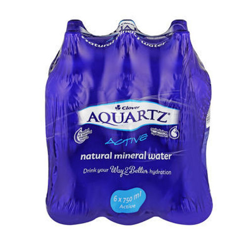 Picture of Aquartz Pure Sparkling Natural Mineral Water 6 x 500ml