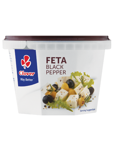 Picture of Clover Feta Black Pepper - 200g