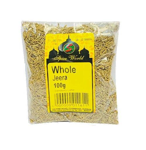 Picture of Whole Jeera / Cumin Seeds - 100g