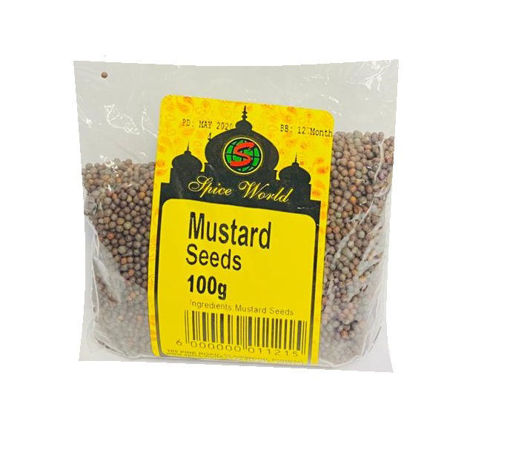 Picture of Mustard Seeds  - 100g