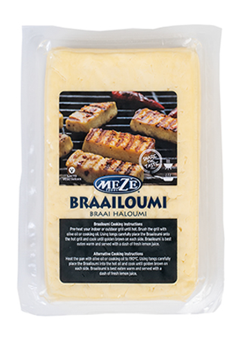 Picture of Meze Braai Haloumi Plain - Per Slab