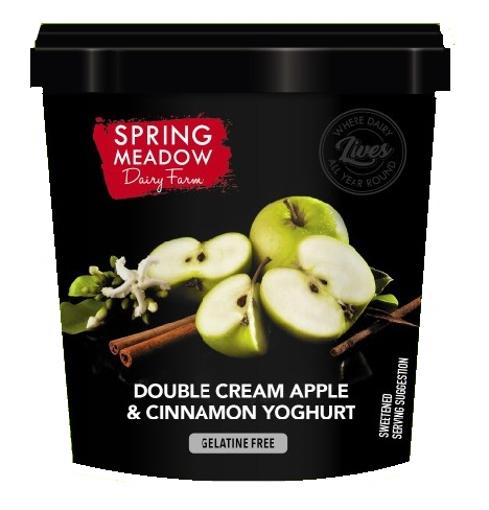 Picture of Yoghurt - Apple & Cinnamon - 1Lt