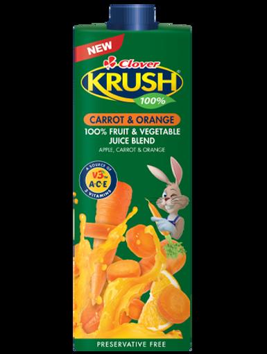 Picture of Clover Krush UHT Carrot & Orange - 1L