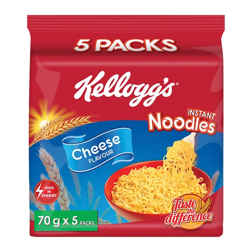 Picture of Kellogg's Noodles Cheese - 5 Pack