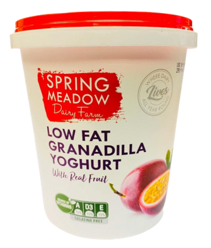 Picture of Yoghurt (Low Fat) Granadilla - 1Lt
