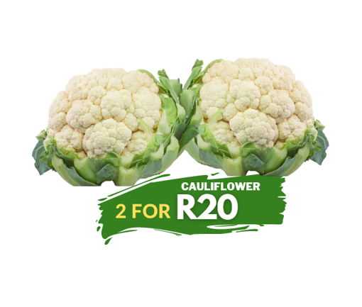 Picture of Cauliflower - 2 for R20