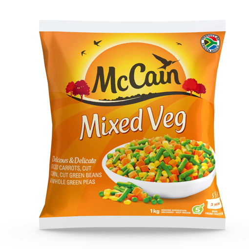 Picture of McCain Mixed Veg - 1kg