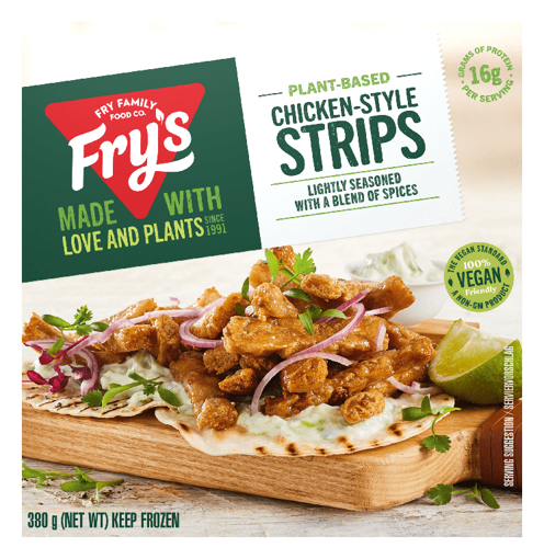 Picture of Frys   Chicken style strips