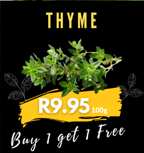 Picture of Thyme 100g - Buy 1 Get 1 Free
