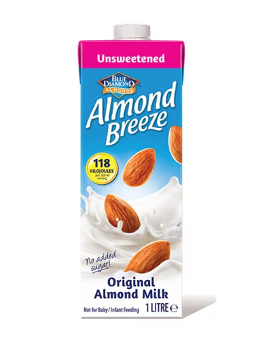 Picture of Almond Breeze - Almond Milk Unsweetened 1L