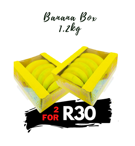 Picture of Banana - 2 x 1.2kg for R30