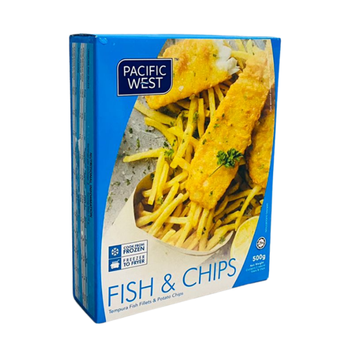 Picture of Fish and Chips - 500g