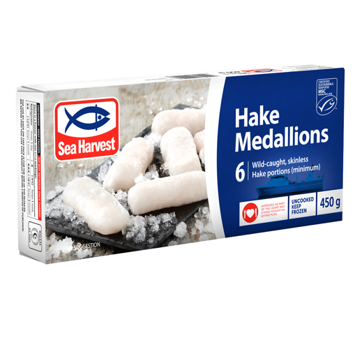 Picture of Sea Harvest Frozen Hake Medallions 450g