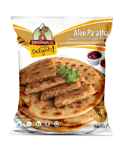 Picture of Spice Potato Filled bread (Aloo Paratha) - 400g