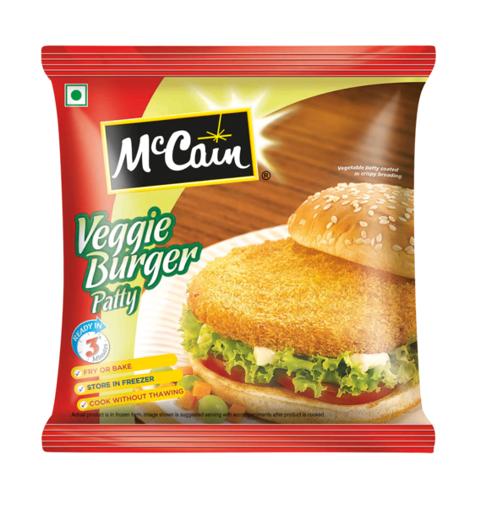 Picture of McCain Veggie Burger - 360g