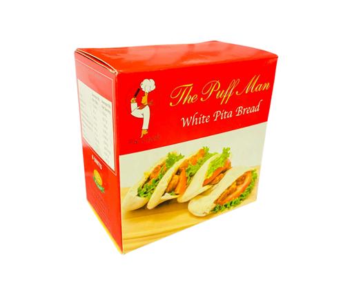 Picture of Puff Man White Pita Bread