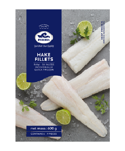 Picture of Hake Skinless Fillets - 600g